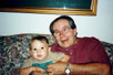 Pop-pop and Kohen.  The first picture by themselves.